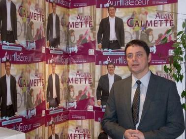 Alain Calmette, Aurillac au Coeur, Municipales Aurillac 2008