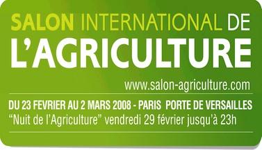 Salon de l'agriculture de Paris 2008