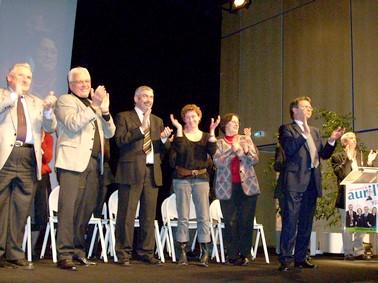 Les candiats d'un avenir à Aurillac, Municipales Aurillac 2008, Cantal