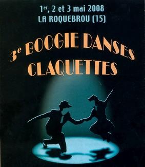 Danse boogie claquette à Laroquebrou
