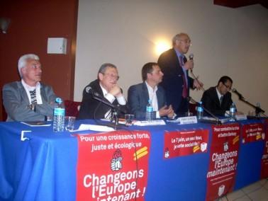 Henri Weber, PS, élections européennes