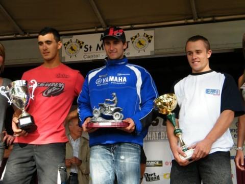 Romain Couprie en tête du Championnat de France de quad cross