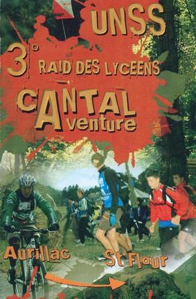 Raid Lycéens Cantal Aventure Cantal