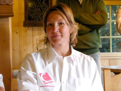 Carole Montillet, maraine du Lioran