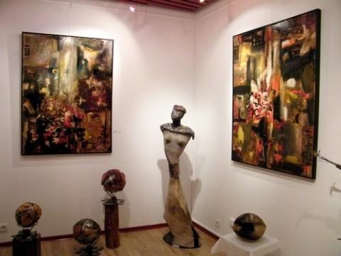 Exposition à Noël à la galerie Clac