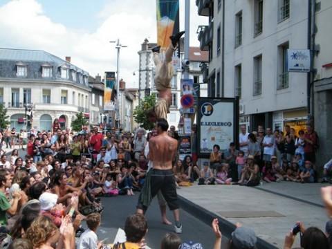 Festival de théâtre de rue d'Aurillac 2010