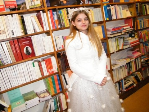 Sainte Lucie, à la Petite Librairie (Mélina)