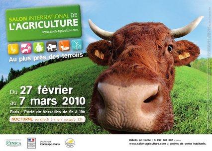 Salon de l'Agriculture 2010, l'affiche