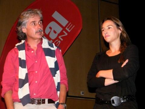 Christian Moullec et Vanessa Demouy
