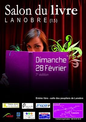 Salon du livre à Lanobre