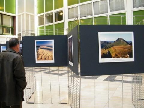 Exposition sur les grands Sites de France