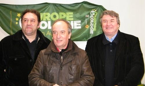 Lionel Roucan, Christian Bourchardy, Jean Desessard