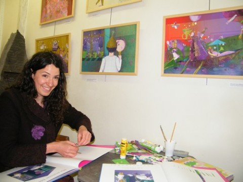 Edmee Cannard à la galerie Gilles Sellier