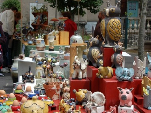 Marché de Potier à Allanche 2010