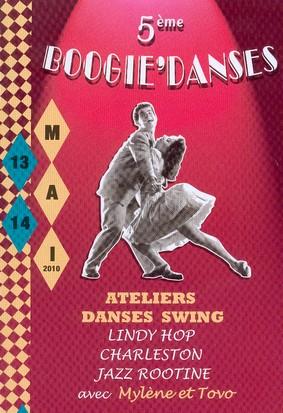 Boogie danse à La Roquebrou 2010