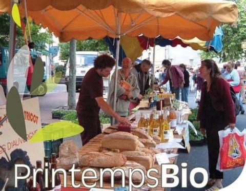 Foires et marchés bio dans le Cantal, 2010
