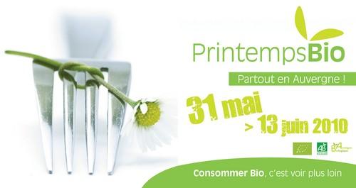 Printemps Bio dans le Cantal et en Auvergne
