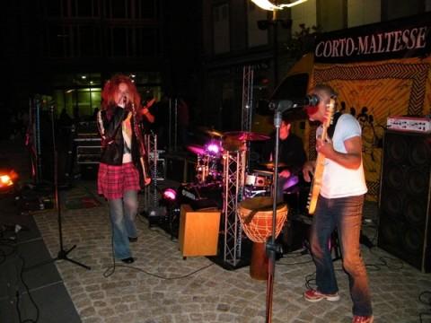 Corto Maltes en Concert pour la fête de la musique 2010