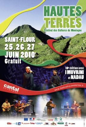 Festival des Hautes terres 2010 à St Flour