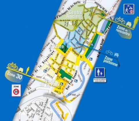 Plan vélo à Aurillac et la circulation