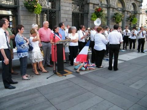 14 juillet républicain à Aurillac