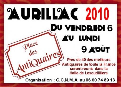 Salon des antiquaires à Aurillac