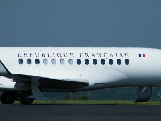 Avion de la Présidence de la République