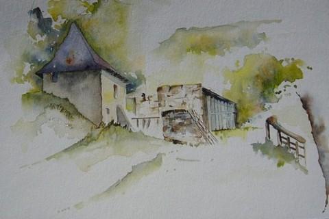 Le moulin, Raymond Cazes