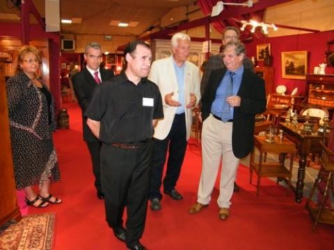 Inauguration du Salon des Antiquaires