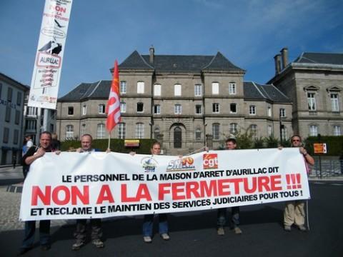 Fermeture de la maison d'arrêt d'Aurillac