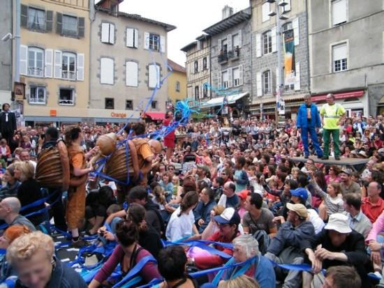 Festival de théâtre de rue d'Aurillac 2011