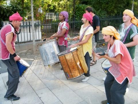 Sambagage pour le concert: les Faratouba