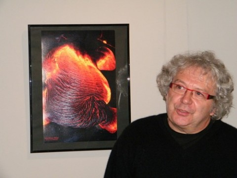 Gilbert Cherroret, photographe de volcans