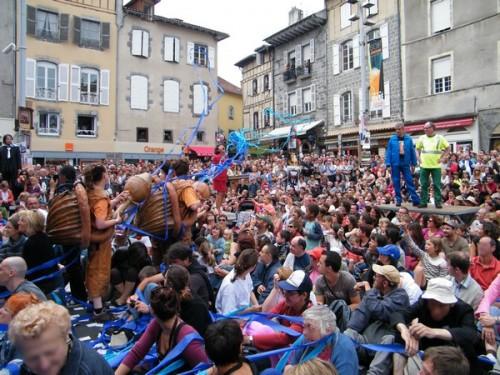 Festivals et spectacles 2011 à Aurillac