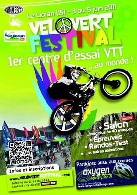 Vélo Vert festival au Lioran, cantal