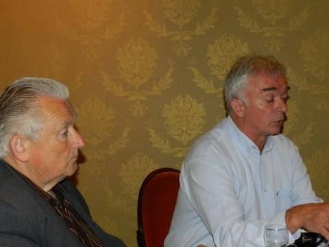 Yves Raoul, administrateur et Claude Tyssandier président de l'ASED