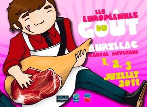 Programme des Européennes du goût 2011