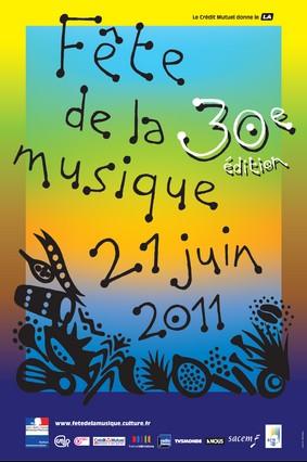 Fête de la musique 2011, Aurillac, Cantal