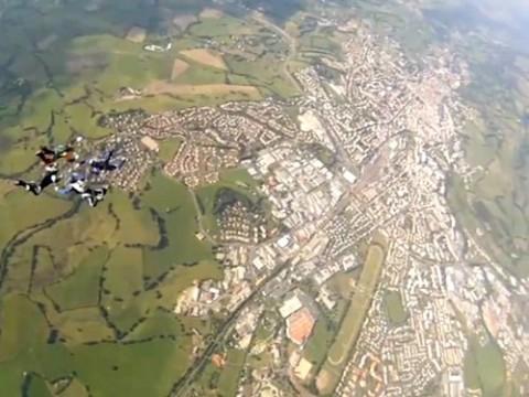 Bougnat Air Force, sélectioné au Championnats de France de parachutisme