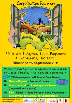 Fête de l'agriculture à Boisset