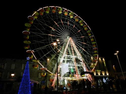 Grande roue à Aurillac pour les animations de Noël 2011