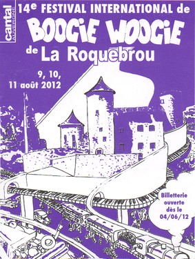 Festival de Boogie Woogie 2012 de Laroquebrou, Cantal