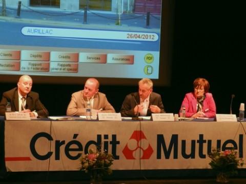 Assemblée générale 2012 du crédit mutuel