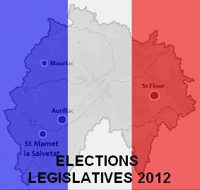 Elections Législatives Cantal 2012