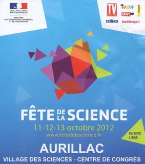 Fête de la science à Aurillac 2012