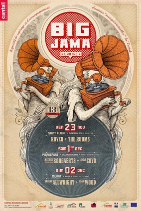 Big Jama, des concerts dans le Cantal