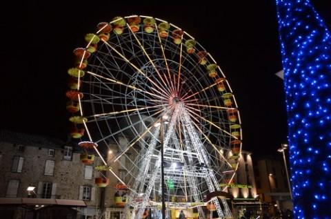 Grande roue à Aurillac, 2012