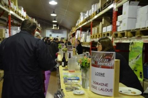 Salon du vin à Aurillac chez Pierre Desprat, Vins passion