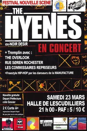 Les Z'Incontourlive, concerts à Aurillac