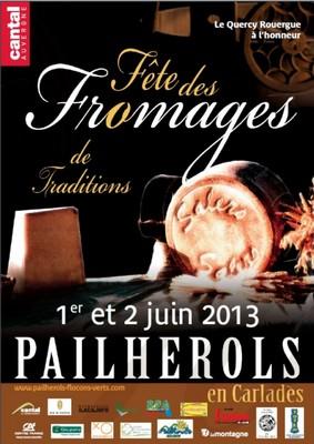Fête des fromages 2013 à Pailherols
